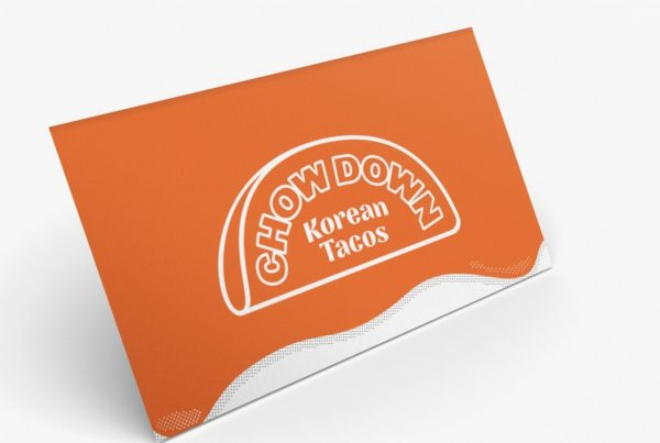 Chowdown Korean Tacos Logo