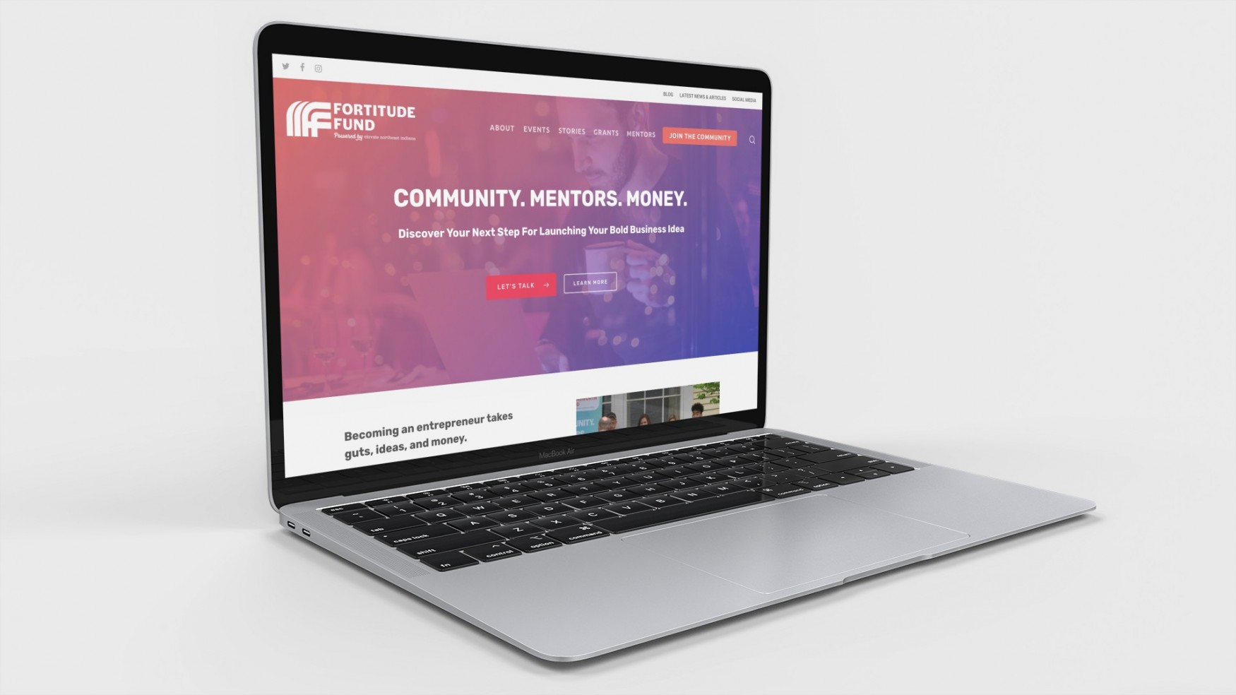 Fortitude Fund Homepage